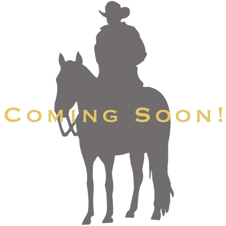 Two Tone Cantle Roll Buckle with Soaring Eagle