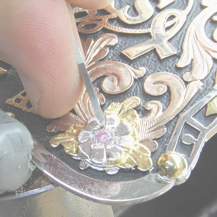 buckle engraving