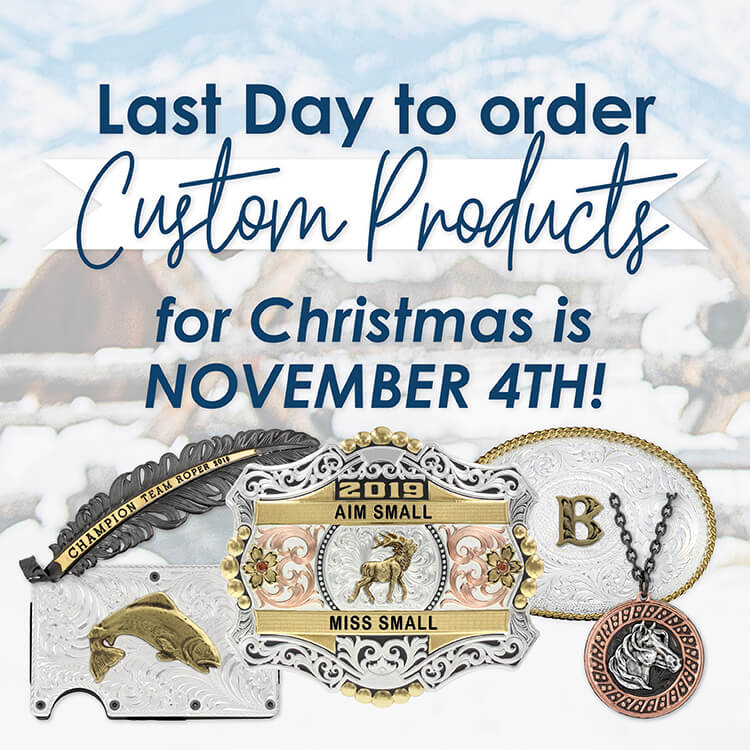 Custom & Personalized Buckles and Jewelry