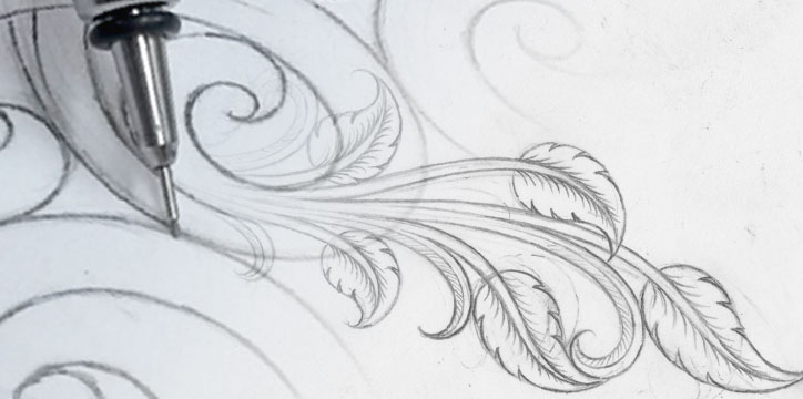 silver artistry hand-drawn sketch