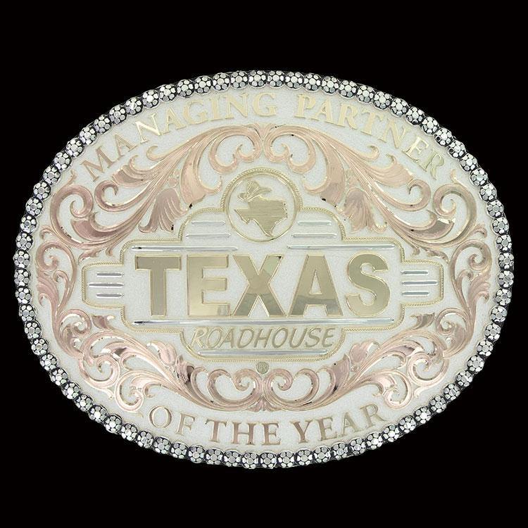 texas roadhouse buckle
