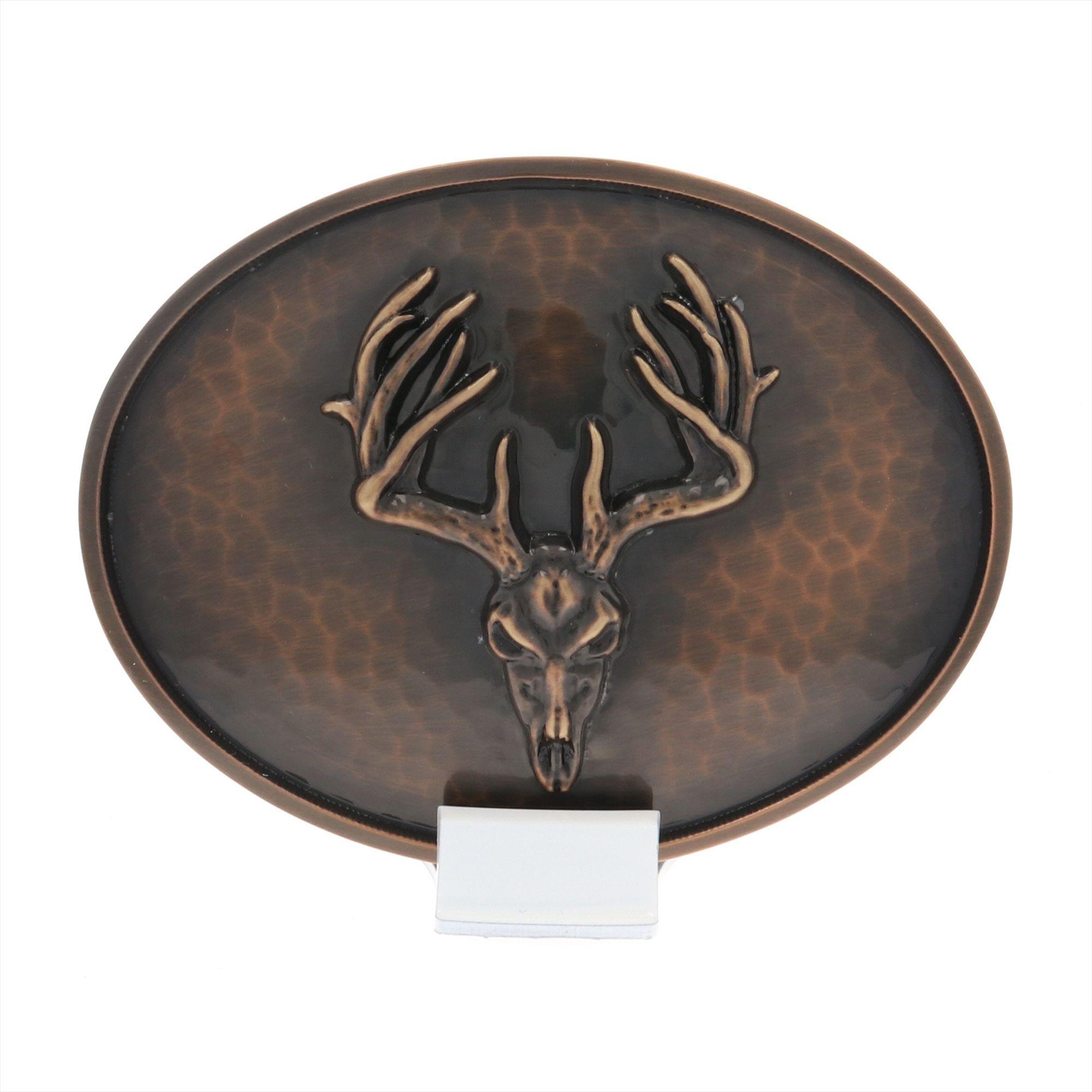 Vintage Bronze Trophy Rack Buckle