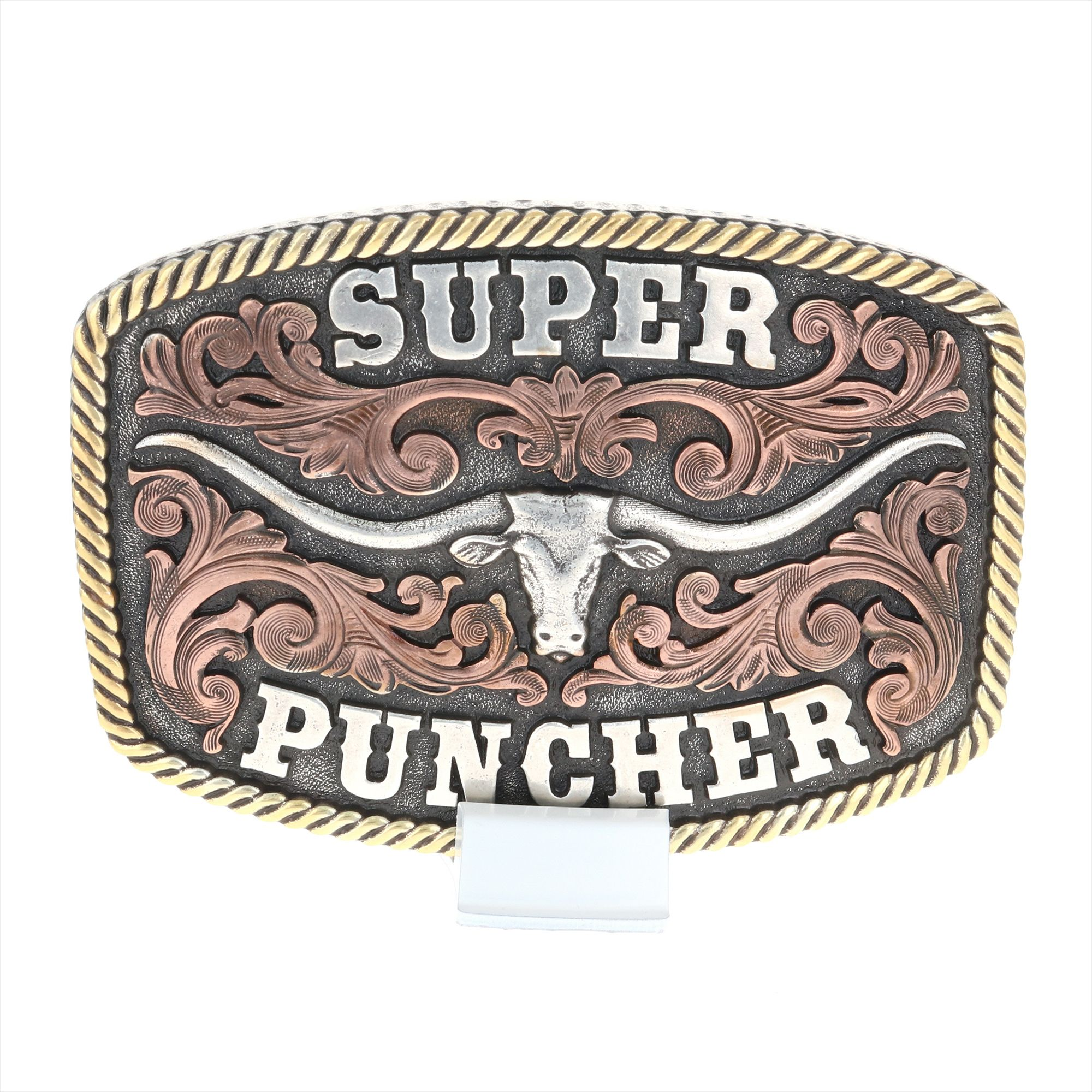 Dale Brisby Super Puncher Longhorn Buckle