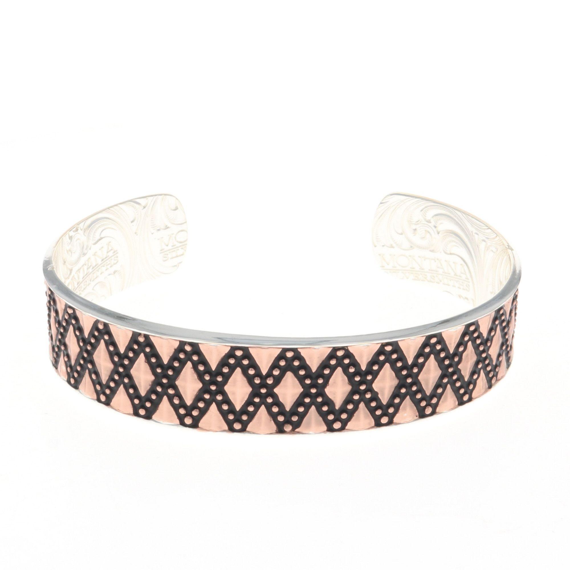 Stitched Rose Gold Bracelet