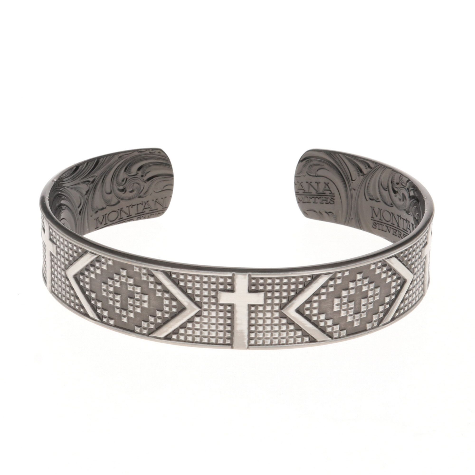 Impressions of Faith Cross Cuff Bracelet