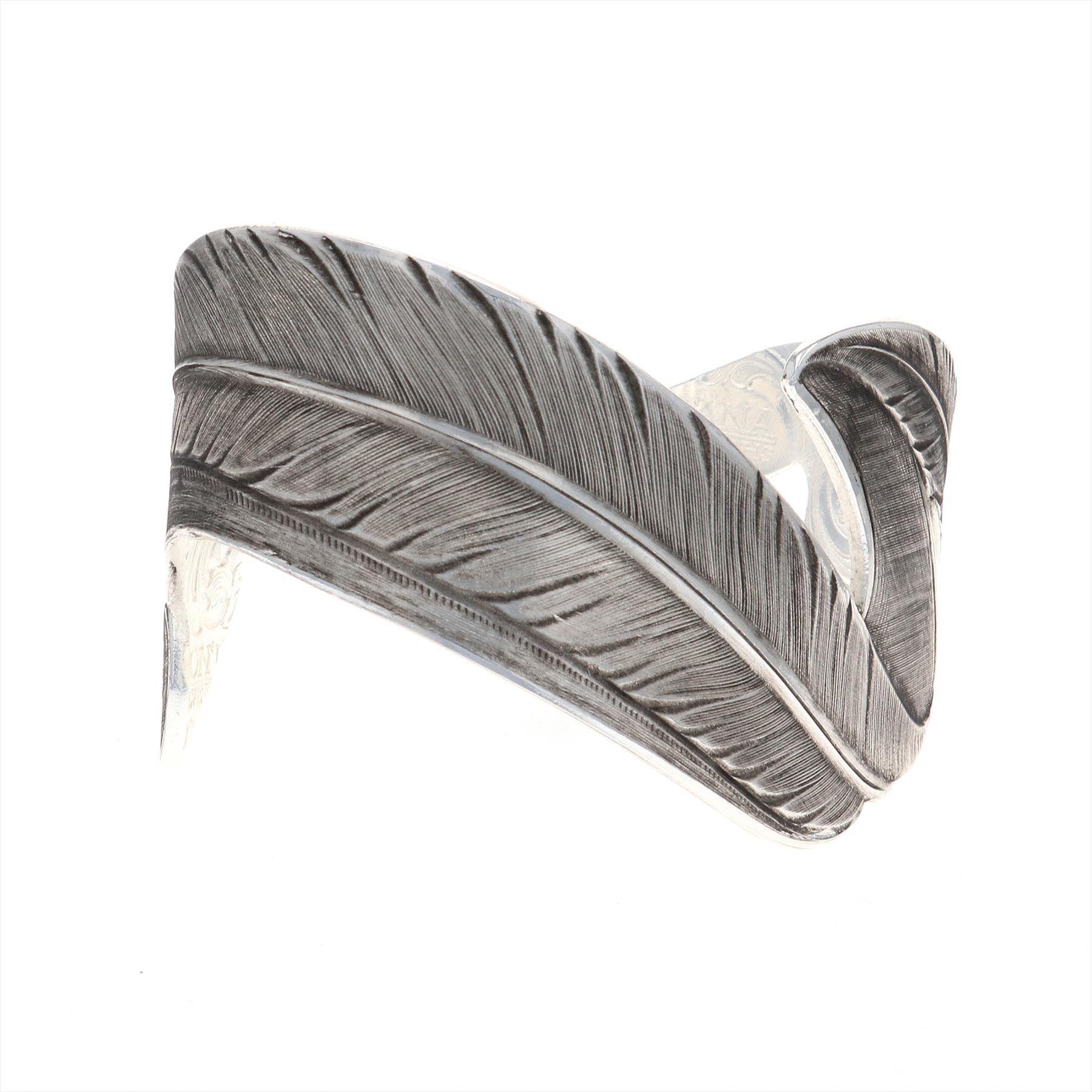 Free Spirit Feather Cuff Bracelet