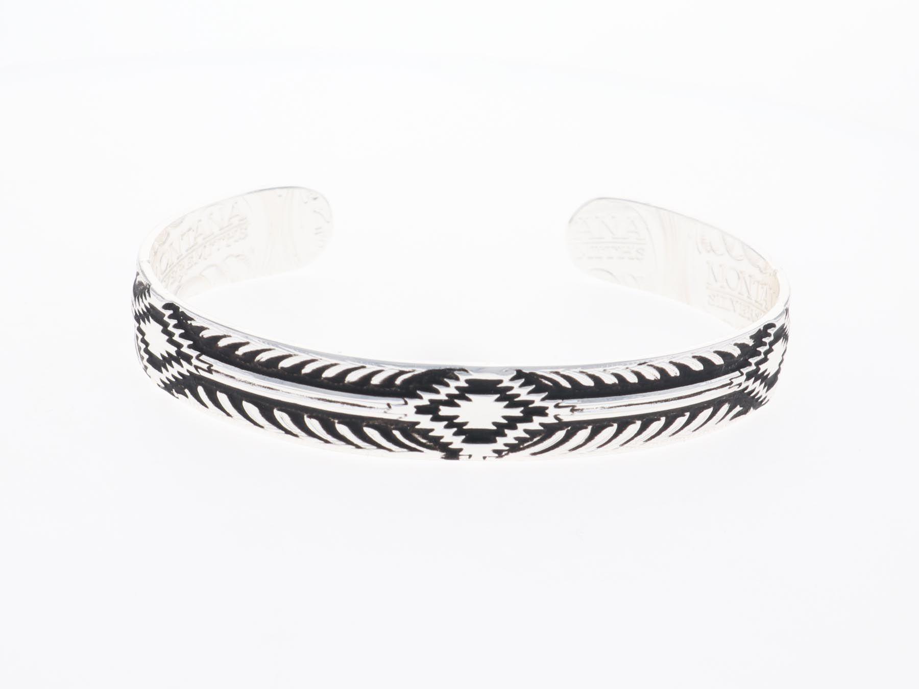 Midnights Steppes Narrow Cuff Bracelet