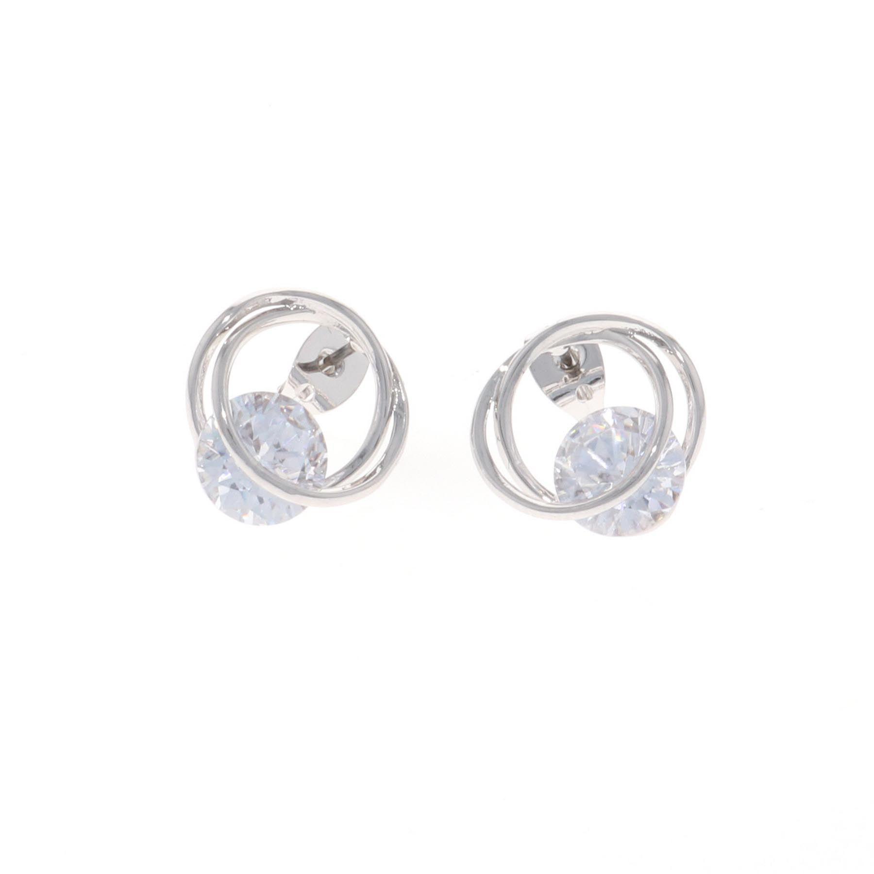 Twisting Hold Post Earrings