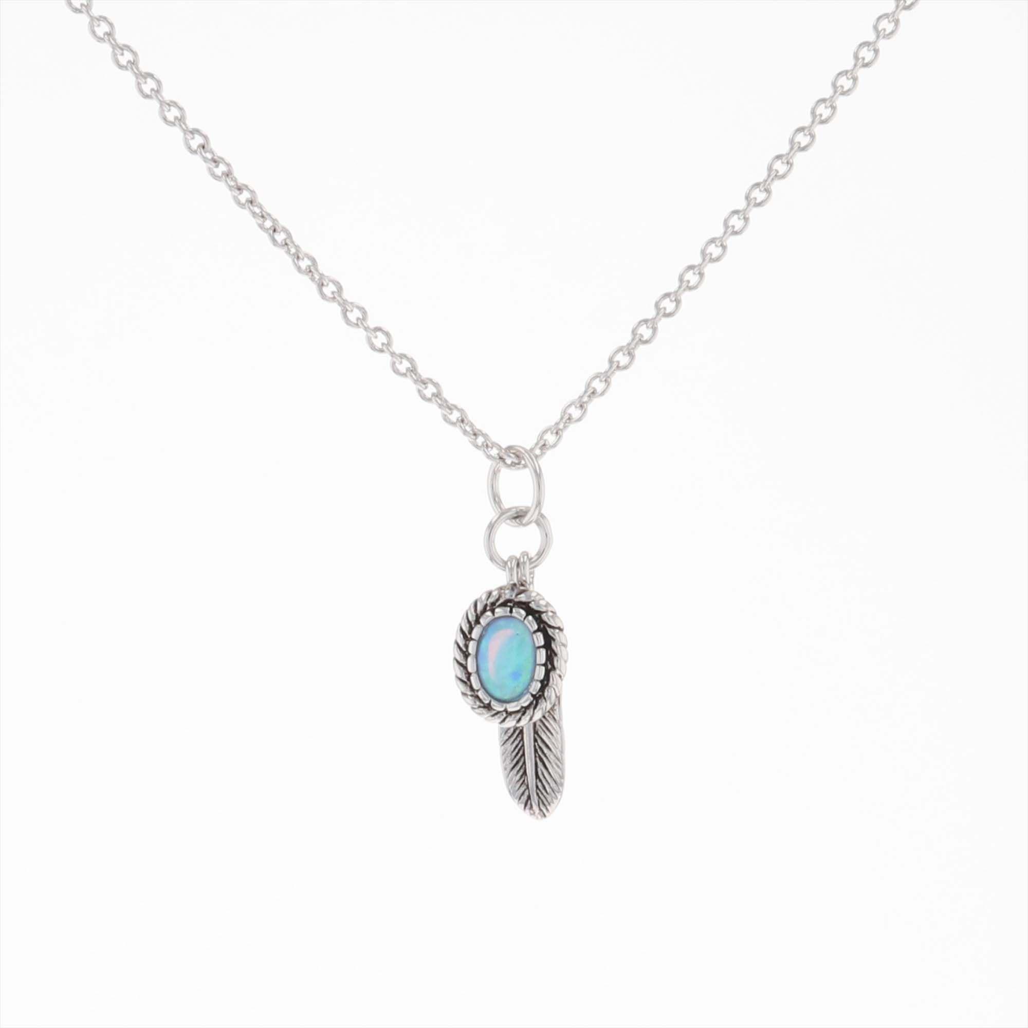 Wishing On Hope Opal Necklace