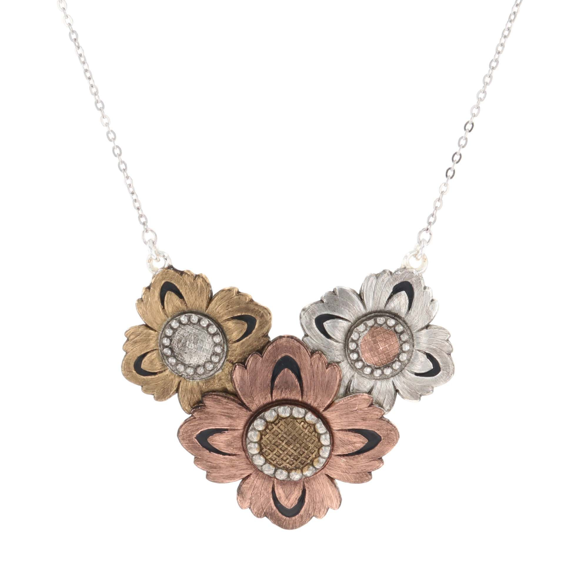 Country Sunshine Flower Necklace