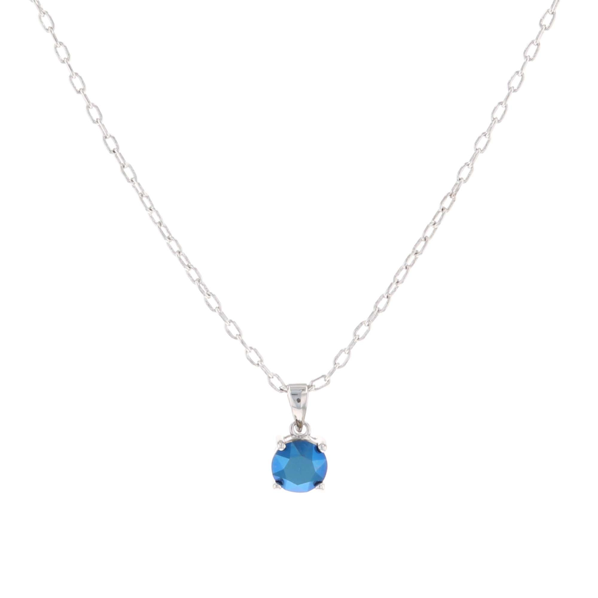 Cerulean Lights Necklace