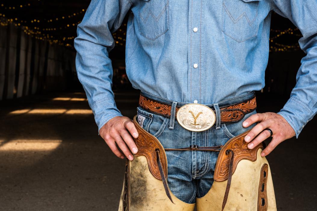 Dutton Ranch Yellowstone Belt Buckle by Montana Silversmiths